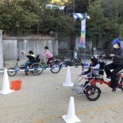 インクルーシブサイクリング体験会in船岡山公園
